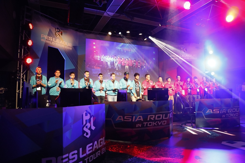 PES LEAGUE WORLD TOUR 2018 アジアラウンド