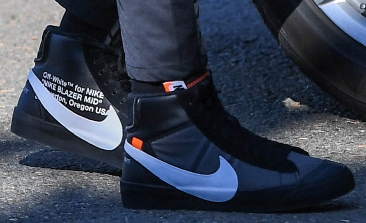 "The OFF-WHITE x Nike Blazer ""Spooky Pack"""